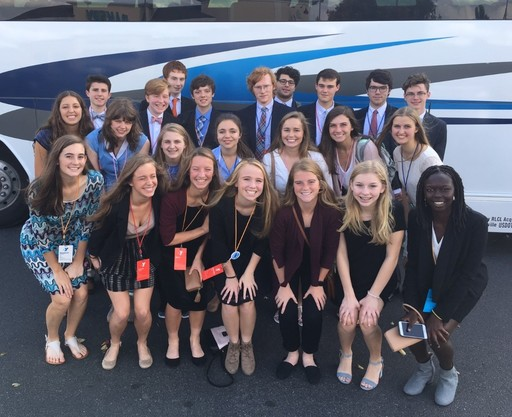 ECS Students Win Highest Awards at YMCA Model UN Conference