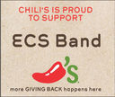 Chili's Give Back Event Supports ECS Band