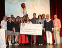 Gieselmann Family Honored by MS Student Council